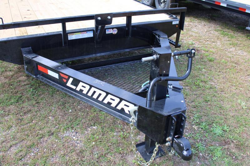 "Lamar 102""X20' 14K Deck-Over Trailer"