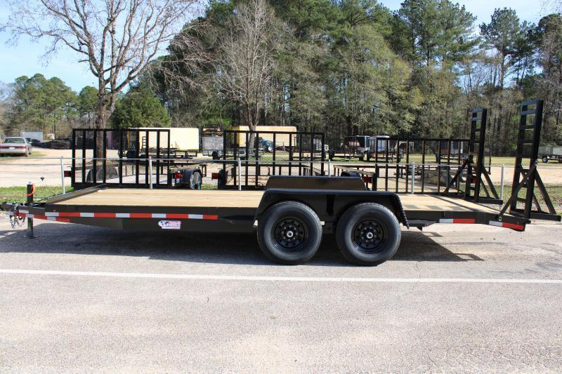 Trailer World 7'X20' 14K Equipment Trailer
