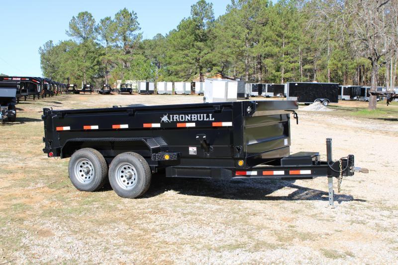 Iron Bull 6'X12' Tandem Axle 10K Dump Trailer