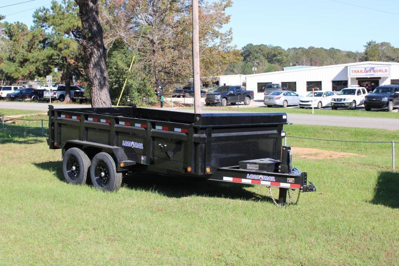 "Load Trail 83""x14' 14K Dump w/ Hydraulic Jack"