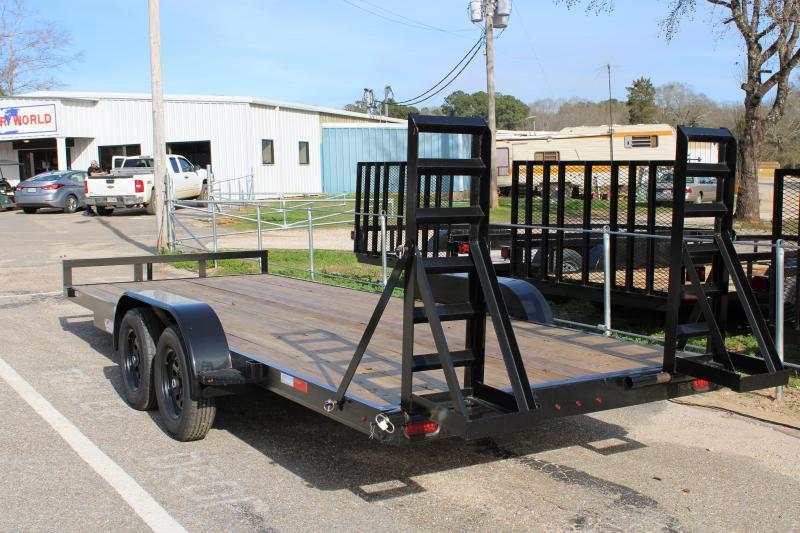 Trailer World 7'X20' 7K Equipment Trailer