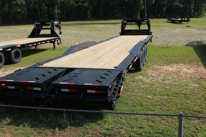 "Iron Bull 102""X40' Gooseneck Equipment Trailer"