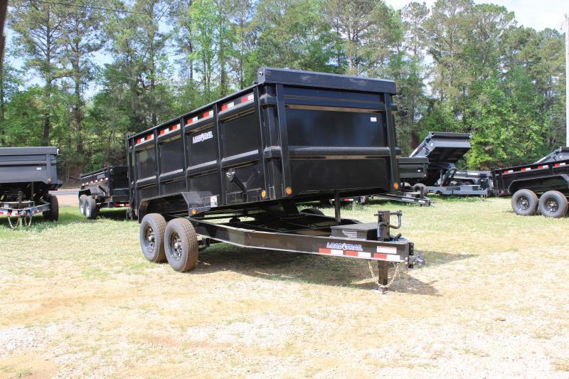 "Load Trail 83""X14' 14K Dump Trailer W/ 4' Sides"
