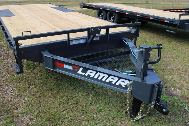 "Lamar 102""X20' 14K Deck-Over Trailer"