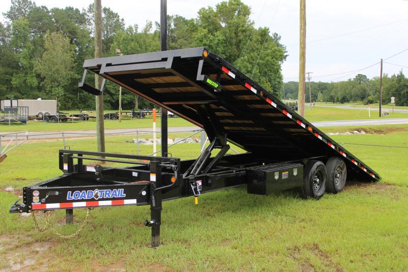 "Load Trail 102""x24' 14K Full-Tilt Equipment Trailer"