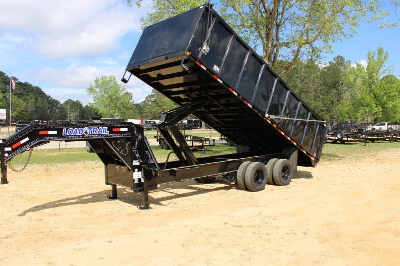 "Load Trail 102""X20' 20K Dump Trailer"