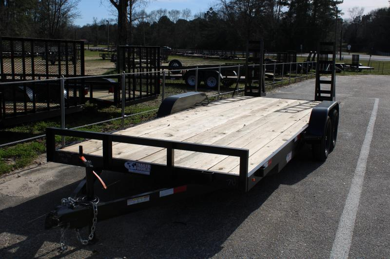 Trailer World 7'X18' 7K Equipment Trailer