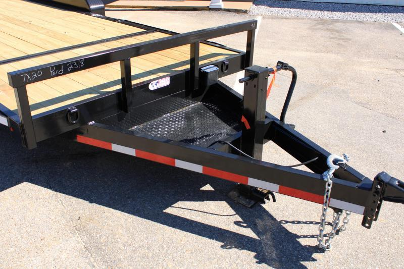 Trailer World 7'X20' 14K Tilt Trailer Equipment Trailer