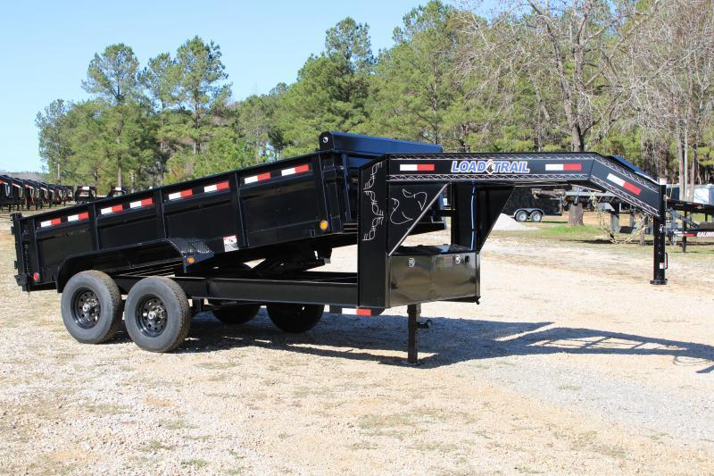 "Load Trail 83""X14' 14K Gooseneck Dump Trailer"