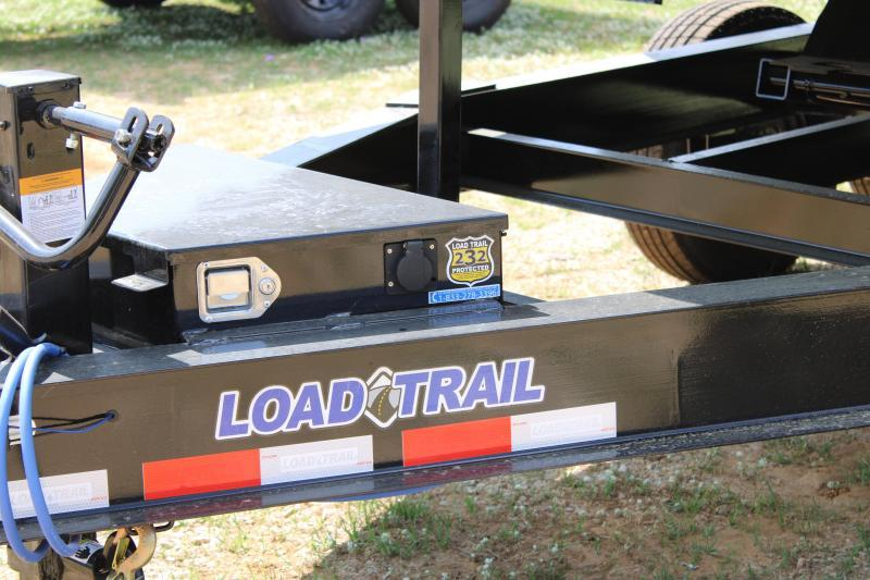 "Load Trail 83""X14' 14K Dump Trailer W/ 3' Sides"