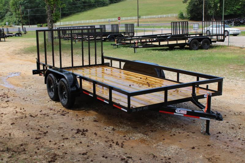 Trailer World 7'X16' 7K Utility Trailer W/ Brake