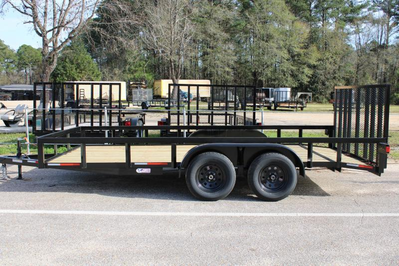 Trailer World 7'X16' 7K Utility Trailer W/ Brake/Dovetail