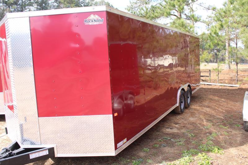 Rock Solid 8.5'X24' 10K Brandywine Enclosed Trailer