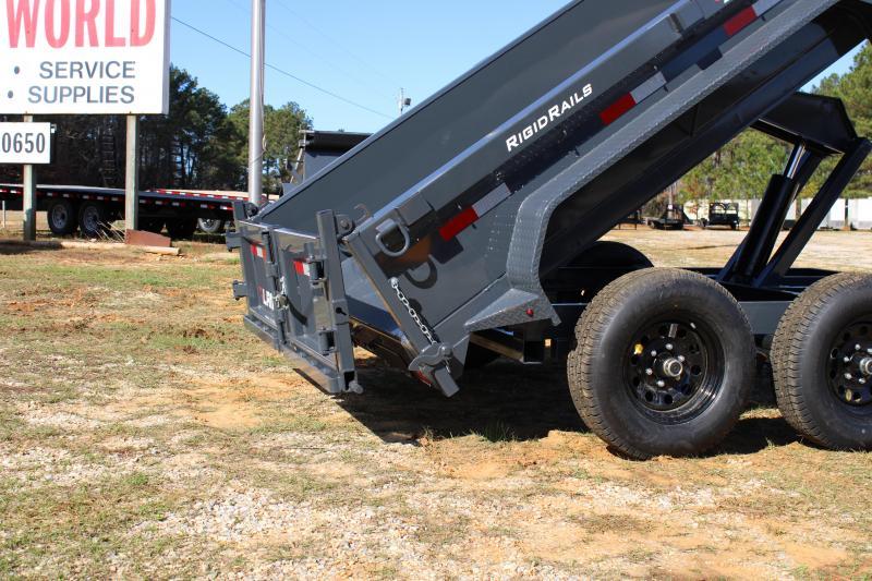 "Lamar 77""X10' Tandem Axle 10K Dump Trailer"