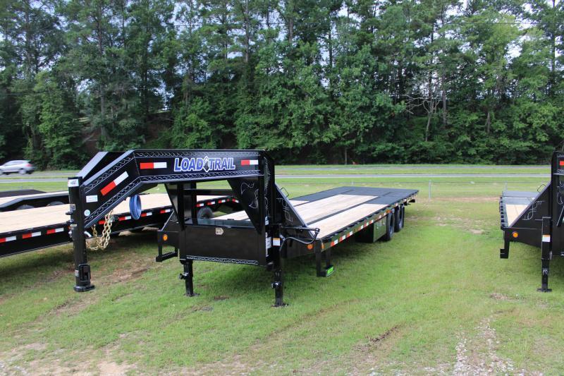 """Load Trail 102""""X32' 20K Gooseneck W/ Hydraulic Dovetail"""