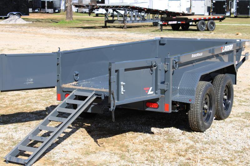 Lamar 5'X10' Tandem Axle 7K Dump Trailer