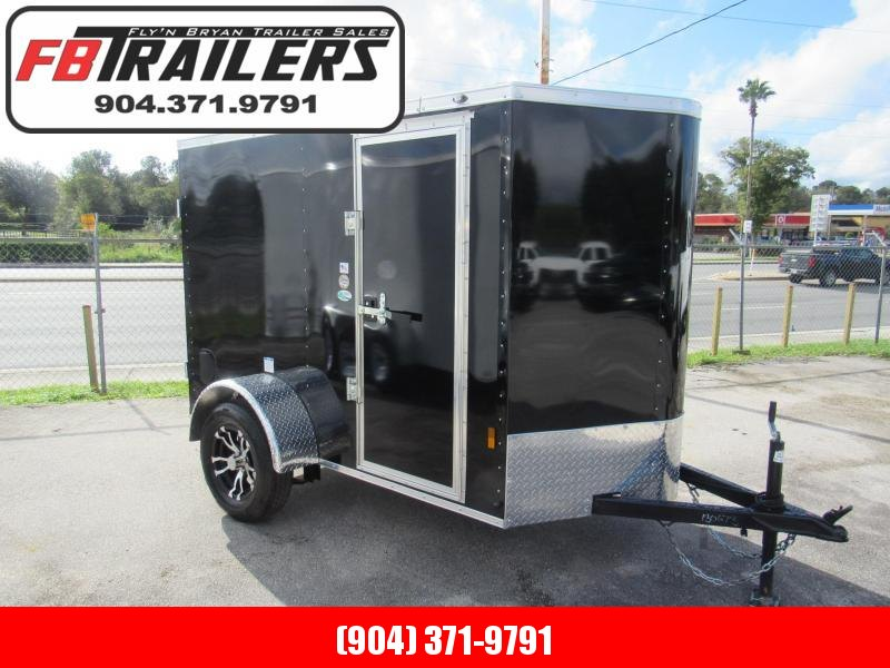 2021 Continental Cargo 5X8 Double Door Enclosed Cargo Trailer