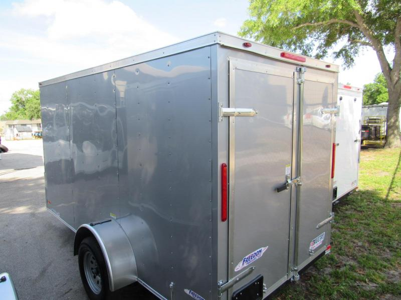 2021 Freedom Trailers 6X12 Rear Double Door Enclosed Cargo Trailer