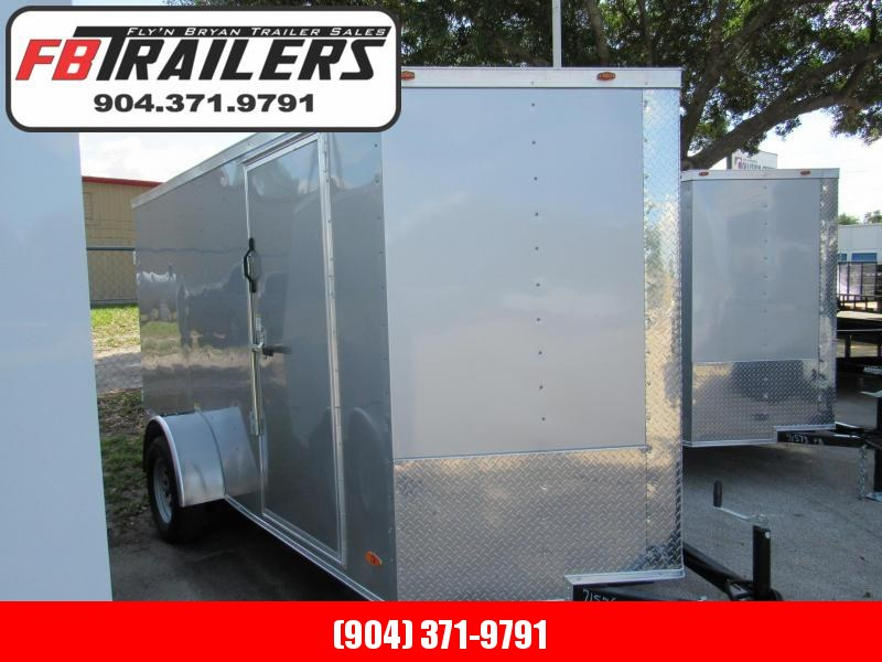 2021 Freedom Trailers 6X12 Rear Double Door Enclosed Cargo Trailer