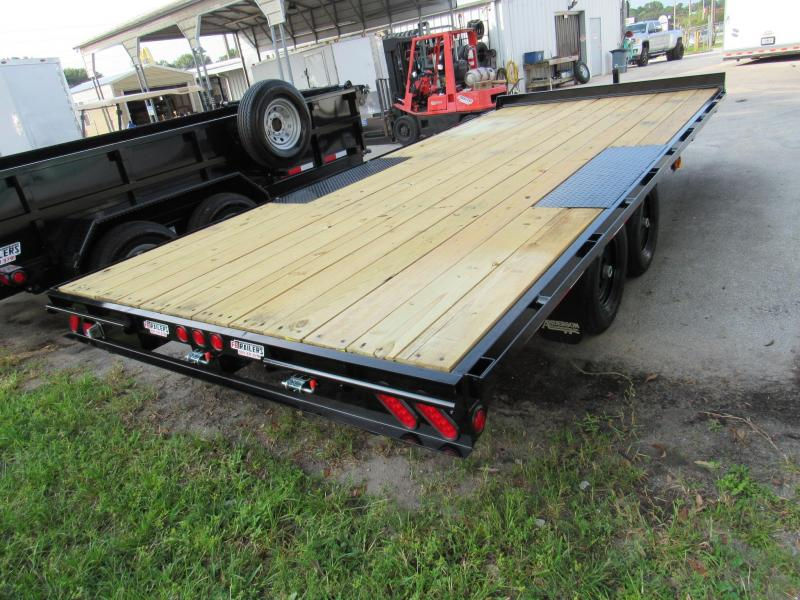 2022 Anderson Manufacturing 18ft Deckover Equipment Trailer