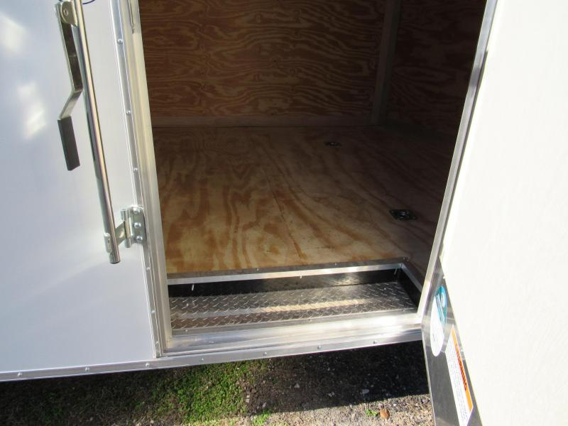 """2021 Continental Cargo 20ft With 6"""" Added Height Enclosed Cargo Trailer"""