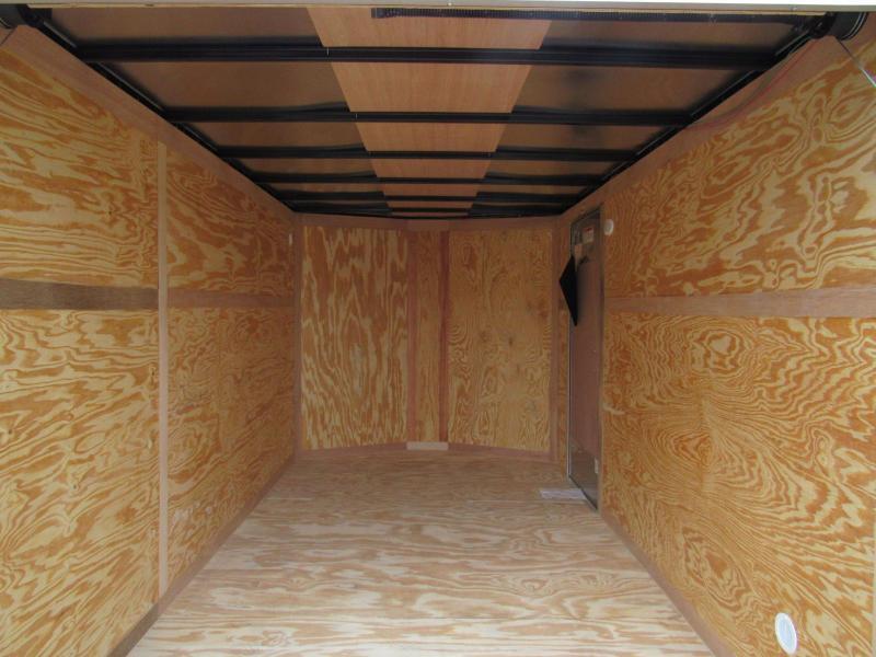 2021 Continental Cargo 6x12 Tandem Enclosed Cargo Trailer