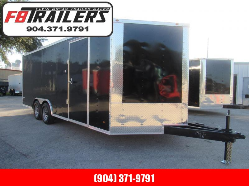 2022 Freedom Trailers 20 Ft Tandem 5200lbs Axles Enclosed Cargo Trailer