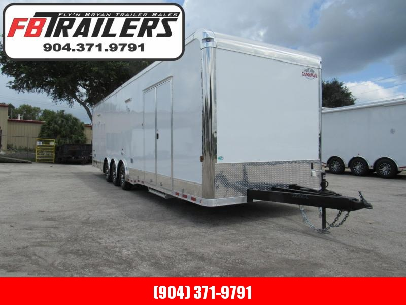 2021 Cargo Mate 32 ft Eliminator Series Car / Racing Trailer