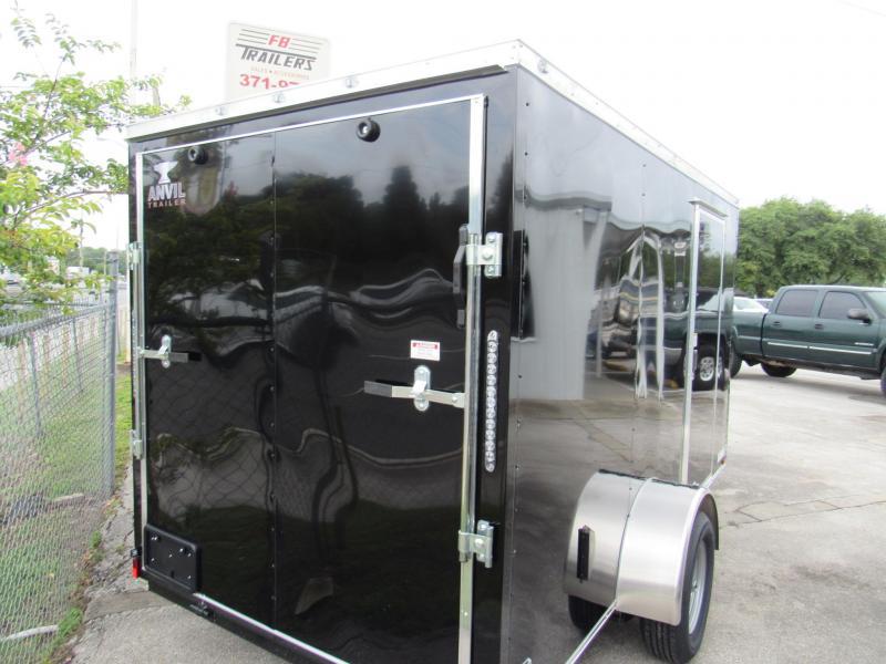 2021 Anvil Trailers 6X12 Enclosed Cargo Trailer