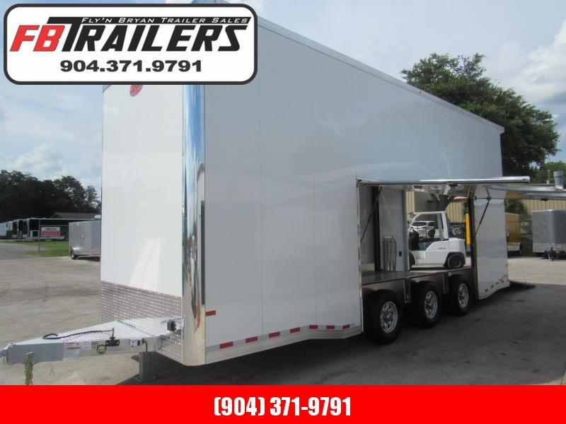 2022 Sundowner Trailers 26ft All Aluminum Stacker Car / Racing Trailer