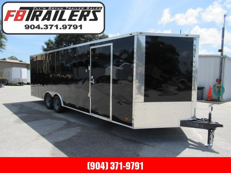 2021 Freedom Trailers 24ft Enclosed Car / Racing Trailer