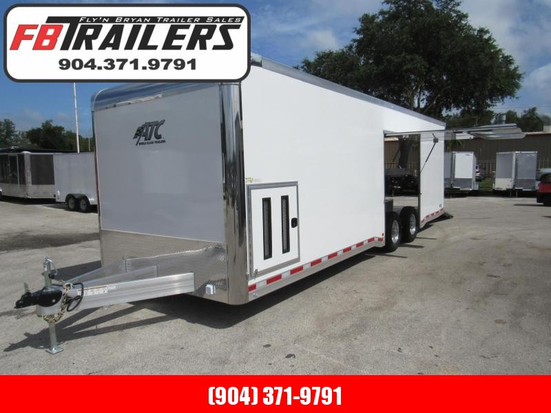 2021 ATC 28 ft Quest 405 Car / Racing Trailer
