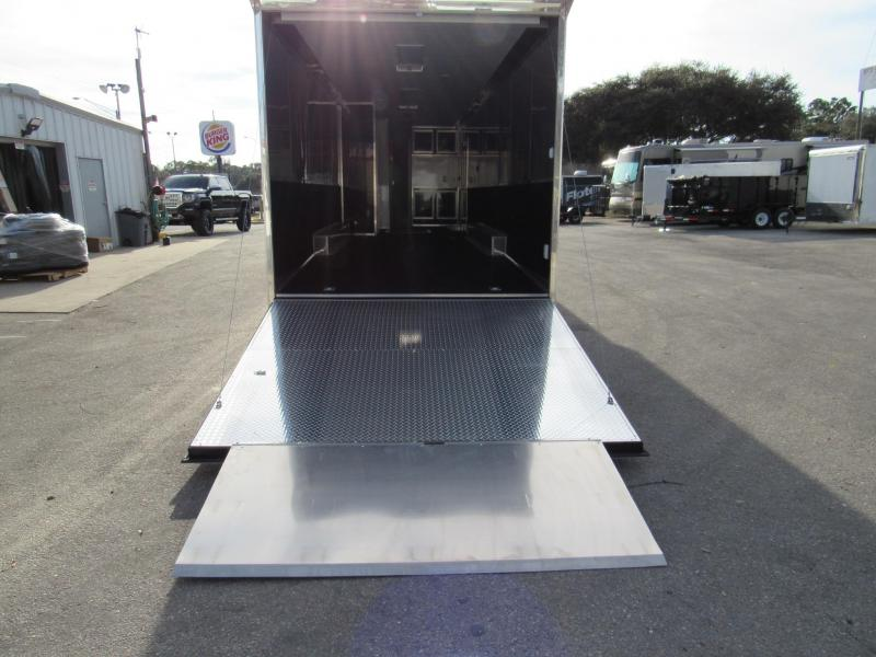 2021 Vintage Trailers 34ft Bath Package Car / Racing Trailer