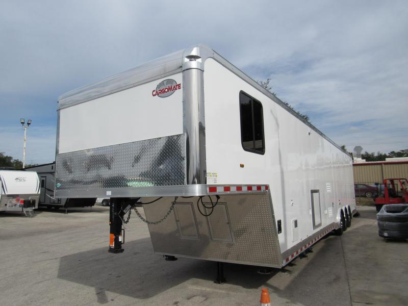 2021 Cargo Mate 44Ft Bath Package Car / Racing Trailer