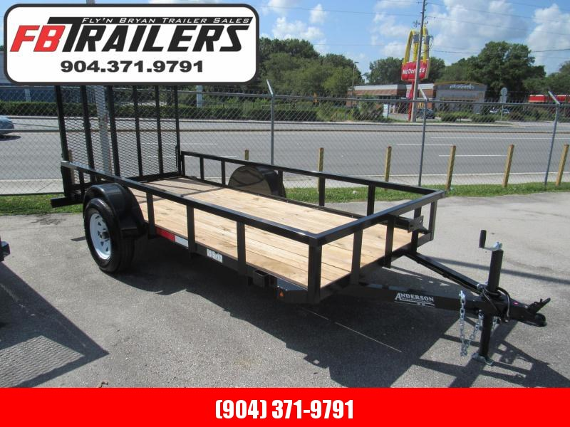 2020 Anderson Manufacturing 5X12 Utility Trailer