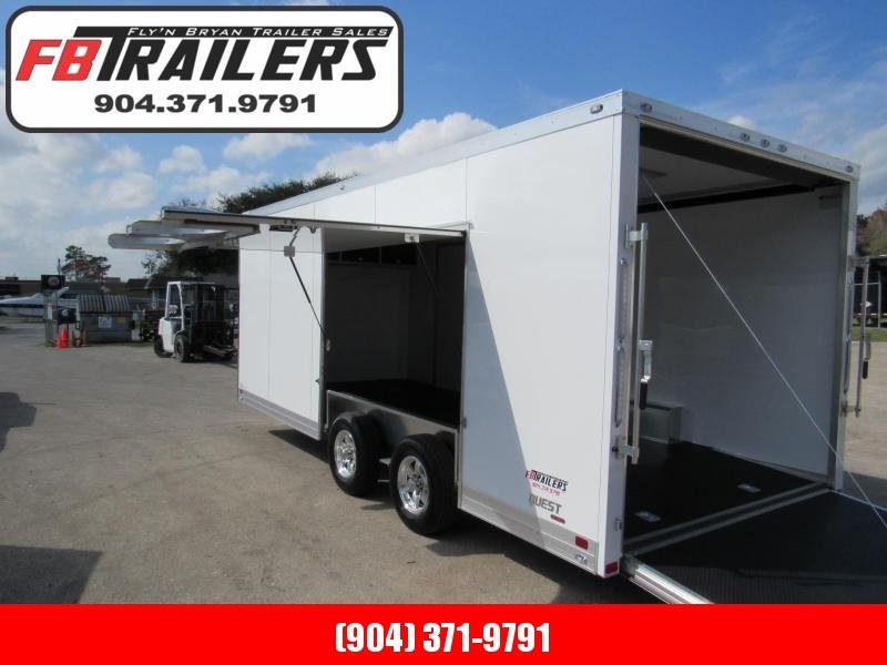 2021 ATC 20Ft with Premium Escape Door Car / Racing Trailer
