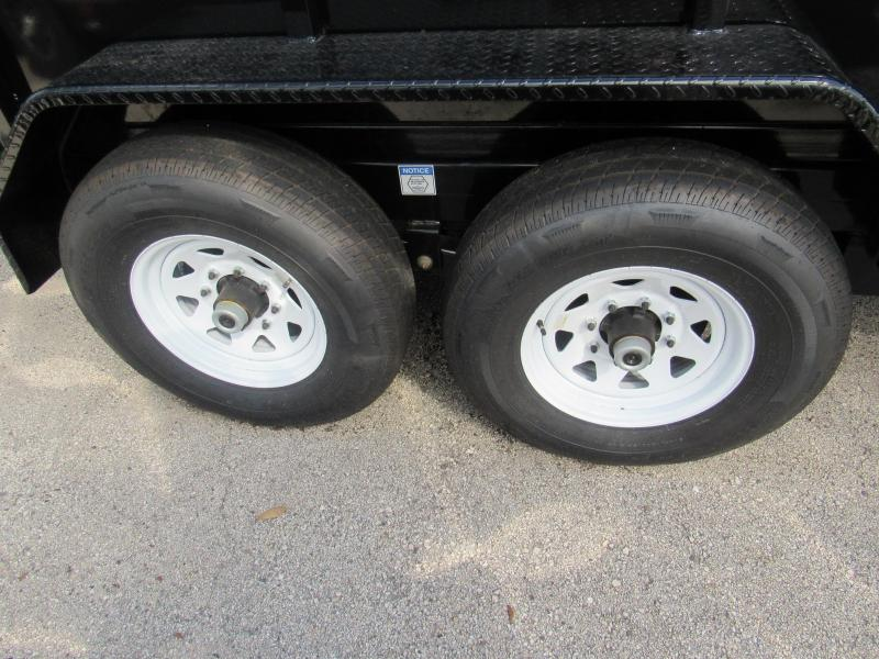 2020 Anderson Manufacturing 7X14 High Side Dump Trailer
