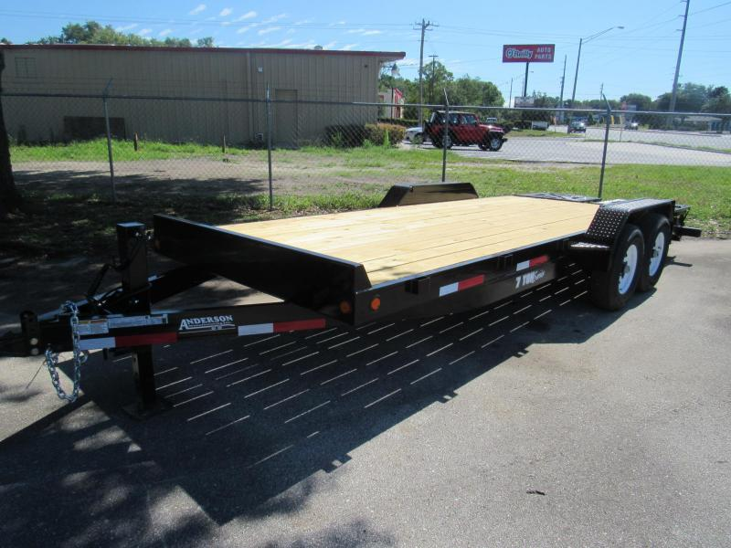 2020 Anderson Manufacturing EQ7207T Equipment Trailer