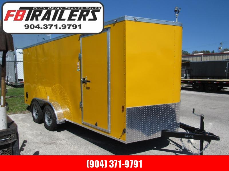 2022 Continental Cargo 7X16 Enclosed Cargo Trailer