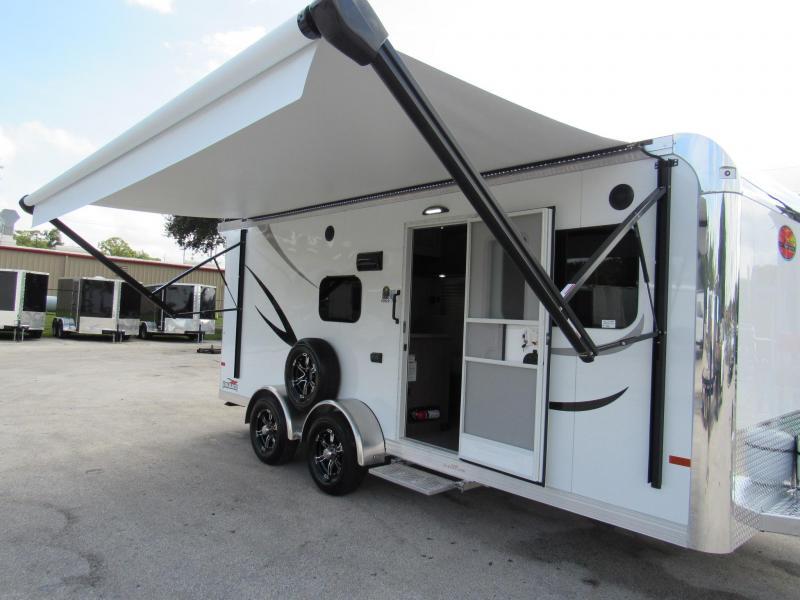 2022 Sundowner Trailers Trail Blazer 18Ft Aluminum Frame Toy Hauler RV
