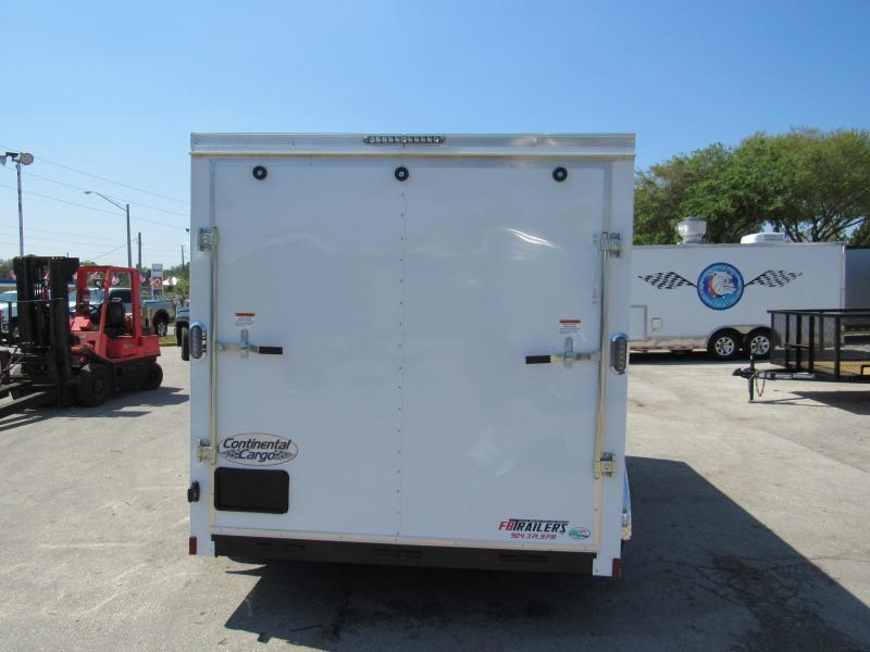 2022 Continental Cargo 7X12 Enclosed Cargo Trailer