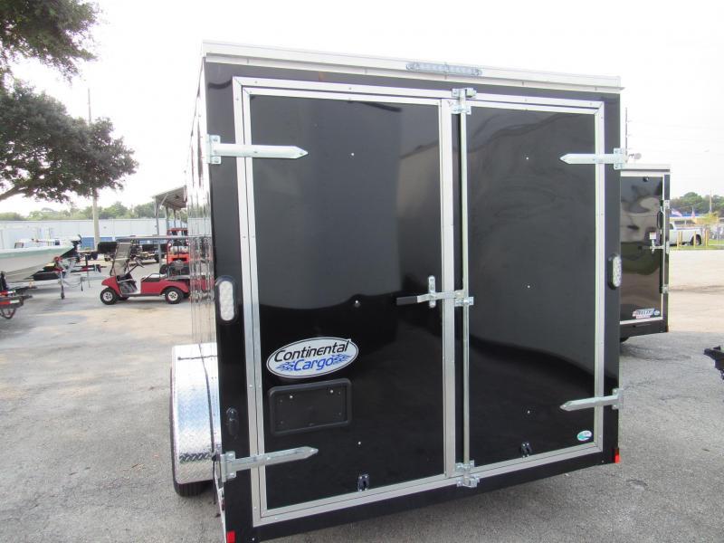 2022 Continental Cargo 7X14 Rear Double Door Enclosed Cargo Trailer