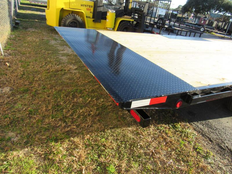 2021 PJ Trailers 22ft T8 Full Deck Tilt Equipment Trailer