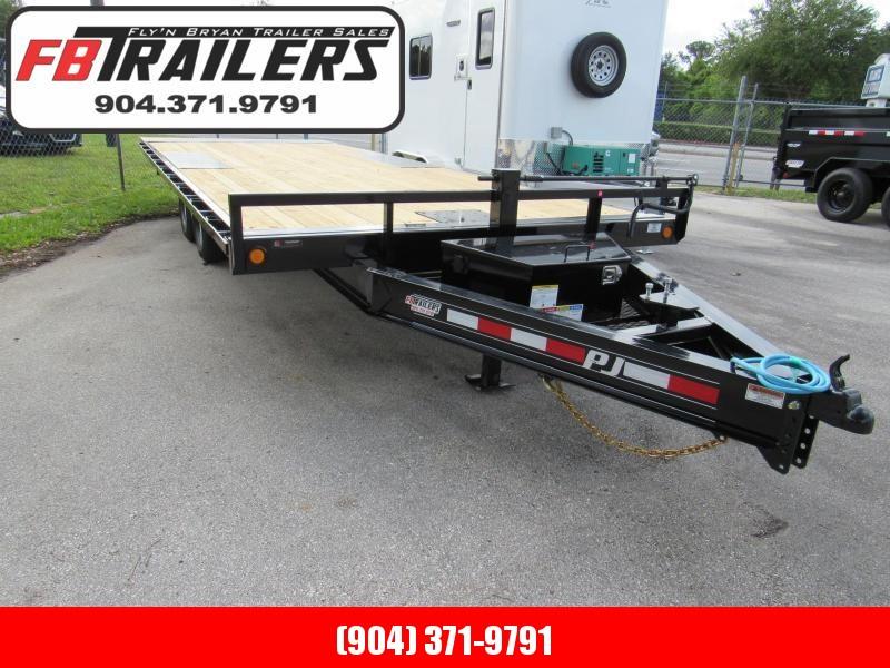 2021 PJ Trailers 22ft T8 Full Deck Tilt Equipment Trailer