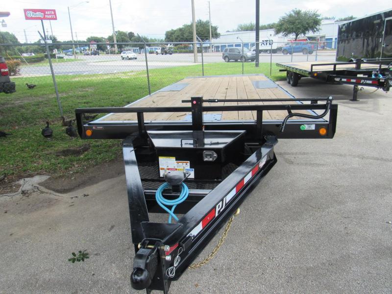 2022 PJ Trailers 22ft T8 Full Deck Tilt Equipment Trailer