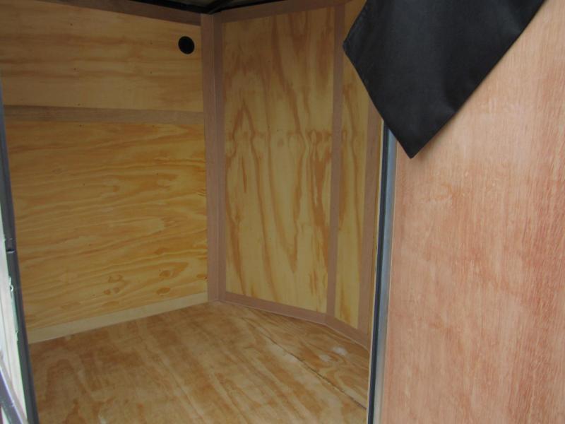 2022 Continental Cargo 6X12 Rear Double Door Enclosed Cargo Trailer