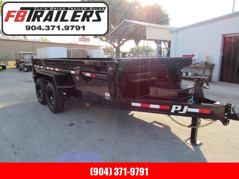 2020 PJ Trailers 14ft Low Profile Dump Trailer