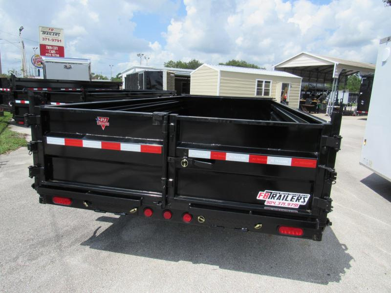 2020 PJ Trailers 16ft Low Profile Dump Trailer