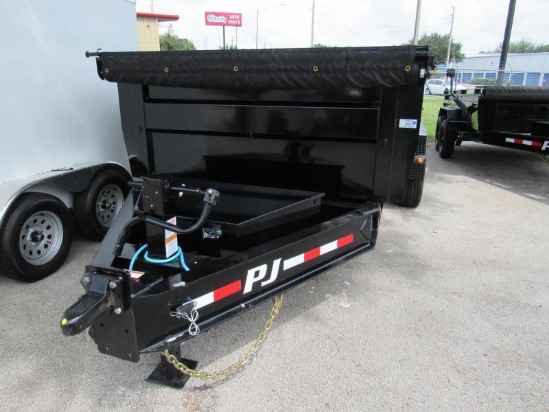 2022 PJ Trailers 16ft HD 10K Axles Dump Trailer