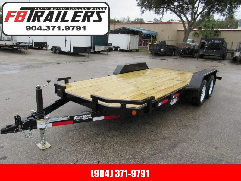 2021 Anderson Manufacturing 18ft Open Car Hauler Car / Racing Trailer
